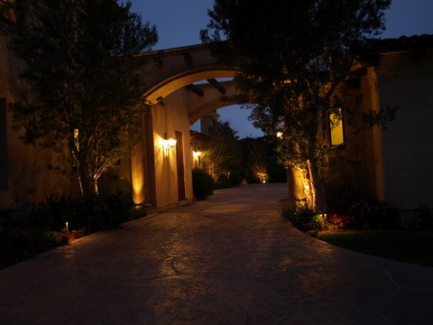 Lake Sherwood Landscape Lighting Modern Landscape  Lighting
