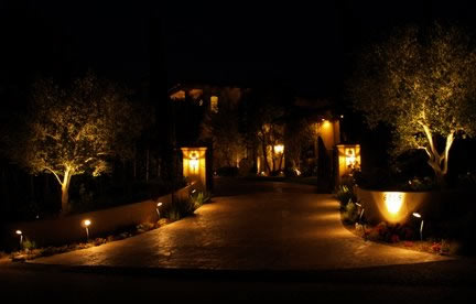 Lake Sherwood Landscape Lighting Fixtures