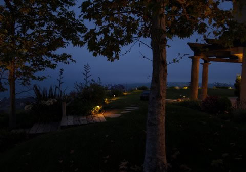 Lake Sherwood Landscape Lighting Pathways