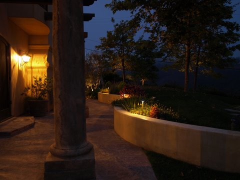 Lake Sherwood Landscape Lighting Outdoor Lighting